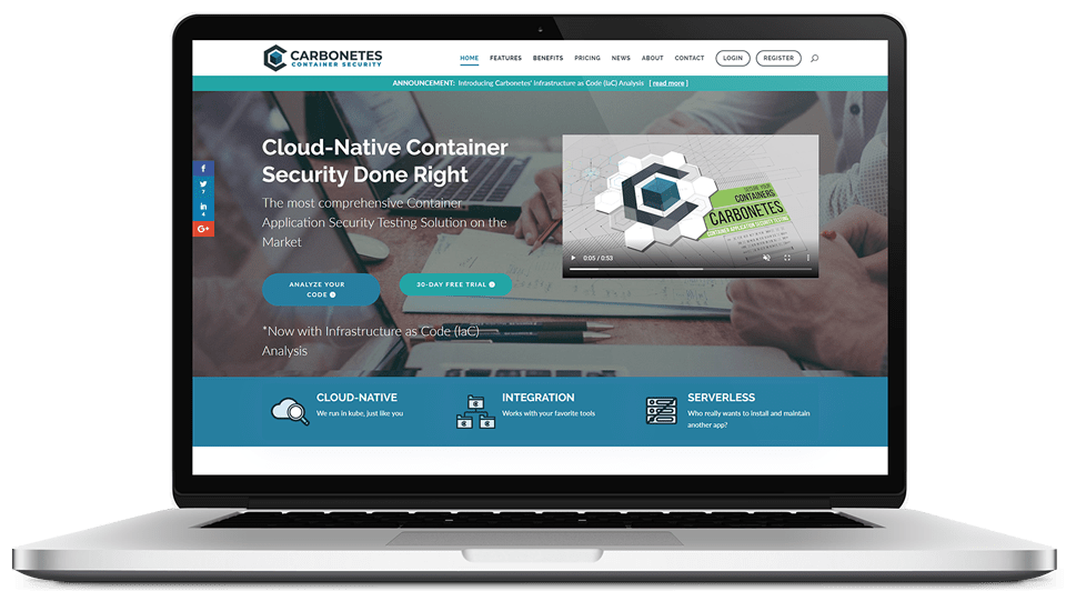 Carbonetes Launches Comprehensive Cloud Native Container Security Service